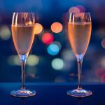 champagne nieuwjaar achtergrond 2016