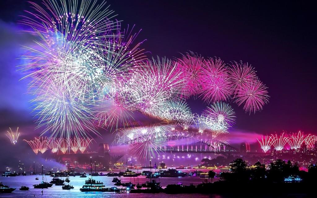 nieuwjaarswensen vuurwerk