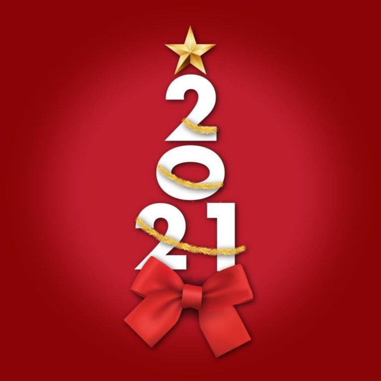 kerstwensen 2021 rode strik
